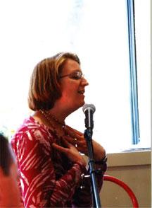 Cassie singing