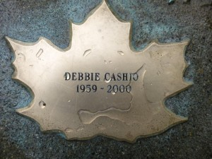 Debbie Cashio after Leafcleaning