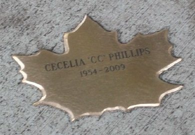 "Bronze Leaf of Remembrance - Cecelia ""CC"" Phillips"