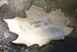 Leaf of Remembrance for Dinah Lane