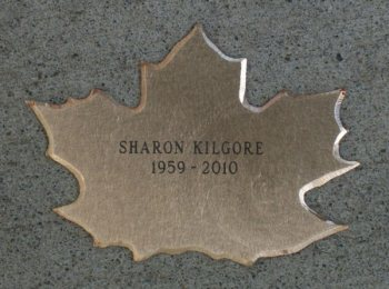 Bronze Leaf of Remembrance for Sharon Kilgore