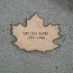 Leaf of Remembrance for Melissa Davis 1976-2006