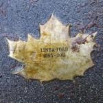 Linda Ford Leaf of Remembrance