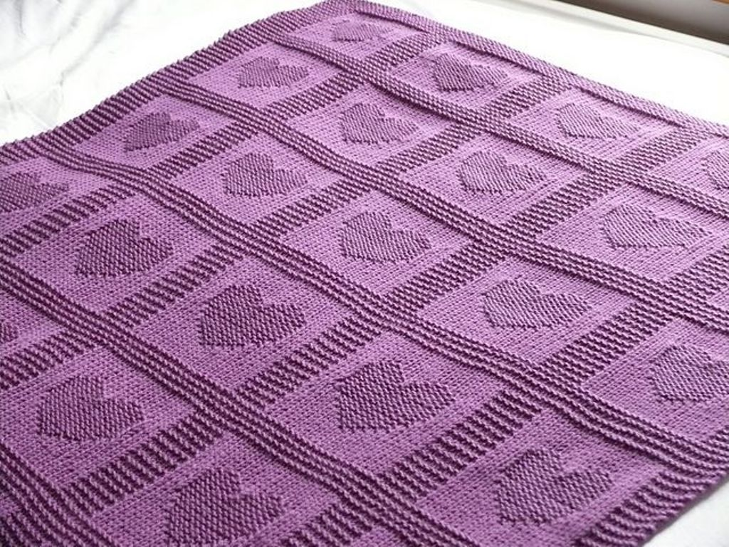 Free Knitting Patterns For Baby Blankets Cool Decoration