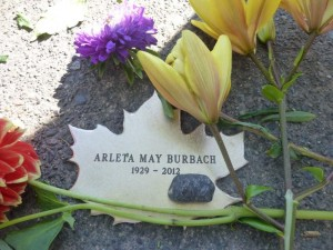 Arleta Butrbach's Leaf, with flowers