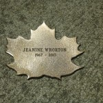 Leaf of Remembrance for Jeanine Whorton