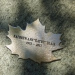 Leaf of Remembrance for Kathryn Blair