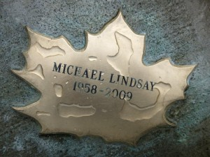 Michael Lindsay after Leafcleaning