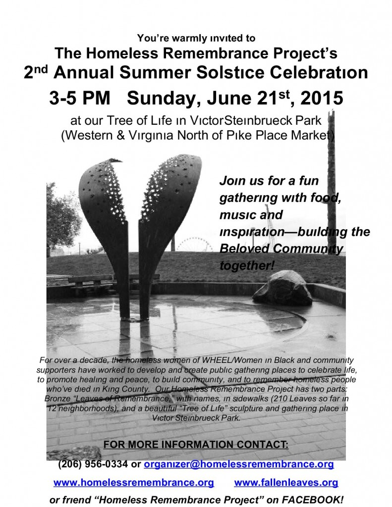 HRP 2015 solstice celebration leaflet