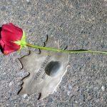 Scott Tresizes' Leaf with stone