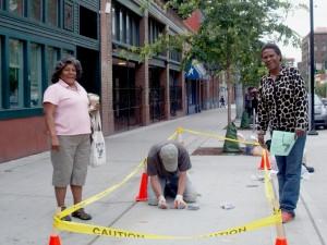Janice & Teri attend Clark's installation 8/14