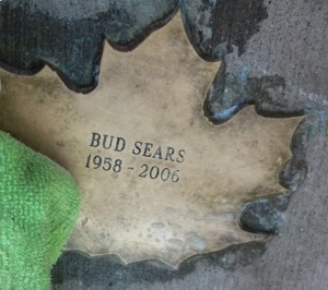Leaf of Remembrance for Bud Sears