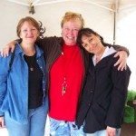 From left to right: Cassie, Carol Schillios, Barb of Mary's Place