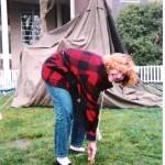 Dinah Lane at SHARE/WHEEL's Shelter Summit, 1998