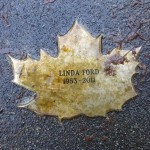 Linda Ford Leaf of Remembrance