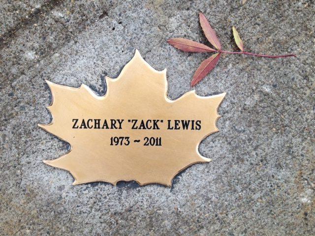 Zachary Lewis's Leaf