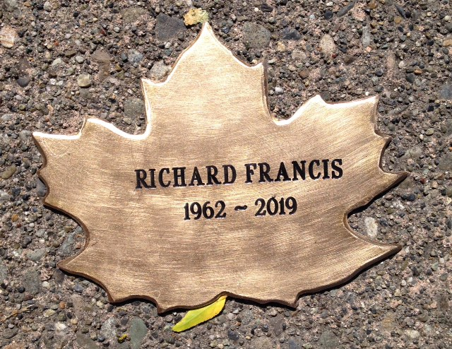 Richard Francis's Leaf