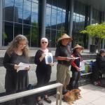 Women in Black vigil for Noel Gaitho