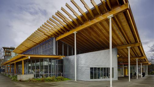 Photo of the Ballard Library