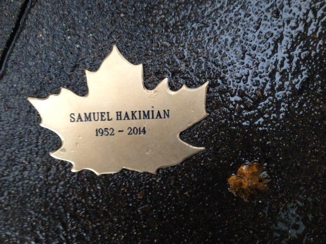 Samuel Hakimian's Leaf